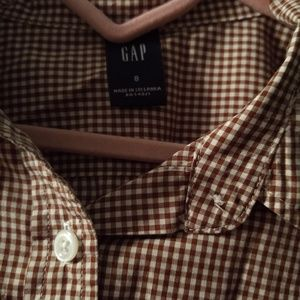 Gap checkered shit button down